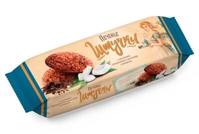 """""""Штучки"""" Печенье сдобное с кусочками натурального шоколада и кокосом"""
