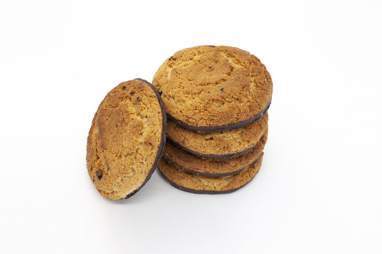 Печенье овсяное глазированное  с изюмом (3 кг)