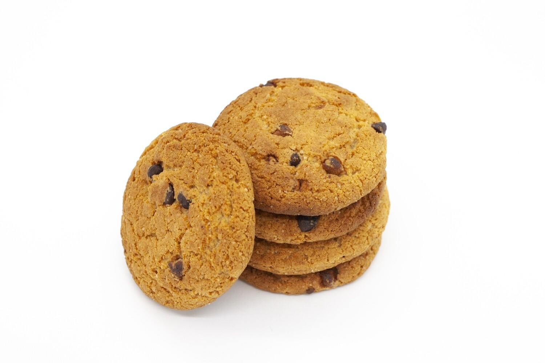 Печенье овсяное с добавлением кусочков темного и молочного шоколада (3 кг)