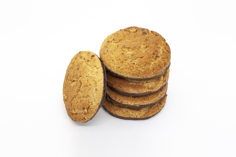 Печенье овсяное глазированное  с миндалем (3 кг)