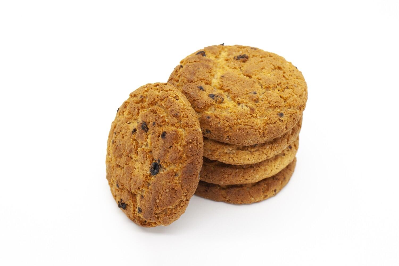 Печенье овсяное с изюмом и курагой (3 кг)