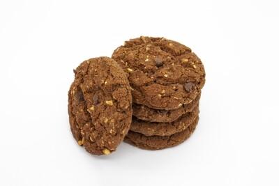 Печенье сдобное с кусочками натурального шоколада и фундуком (3 кг)