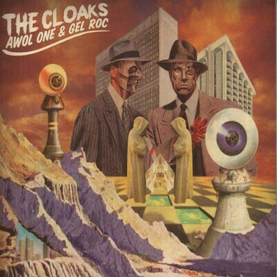 The Cloaks (Awol one & Gel Roc) Invisibility Colored Vinyl