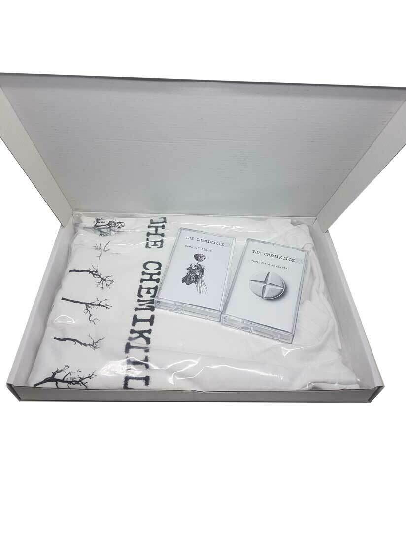 the Chemikilzz - Eggs of blood (Awol one & Mascaria (Double Tape, T-shirt box)