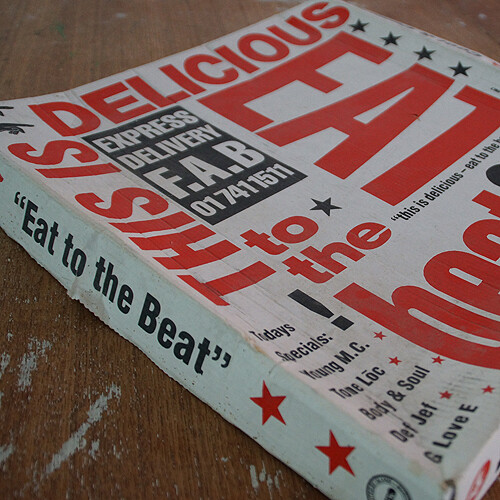 This Is Delicious - Eat To The Beat Vinyl pizzabox