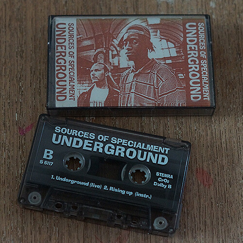 Sources of specialment - Underground