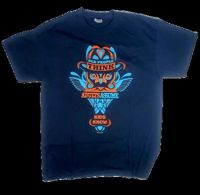 YAH X Eelco van den berg – Old people think T-Shirt