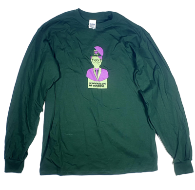 YAH – Knowse (in) my business – Longsleeve