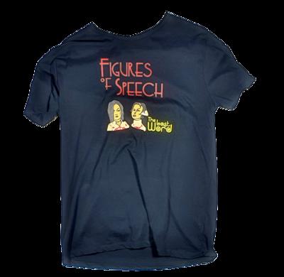 Figures of speech - T Shirt (RARE)