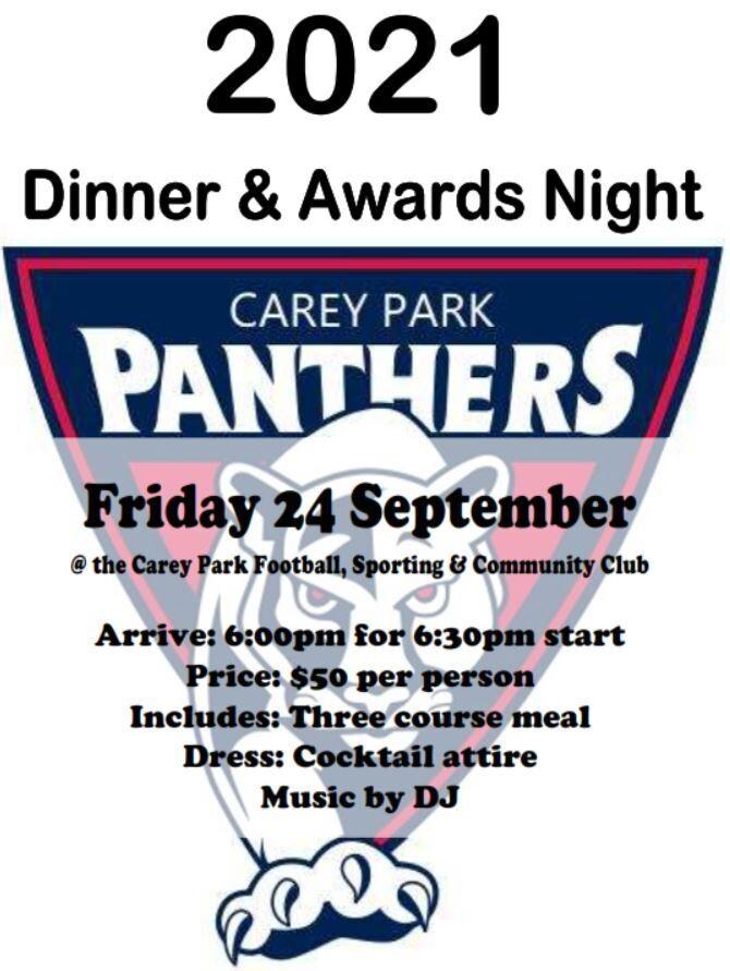2021 Dinner & Awards Night