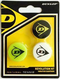 DUNLOP Revolution NT Vibrastop 3er