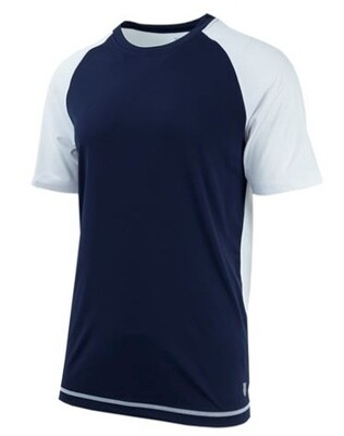 K-Swiss Back Court Tee navy