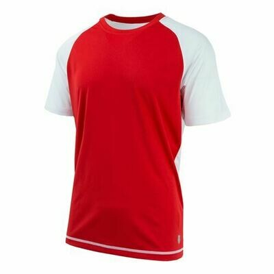 K-Swiss Back Court Tee red
