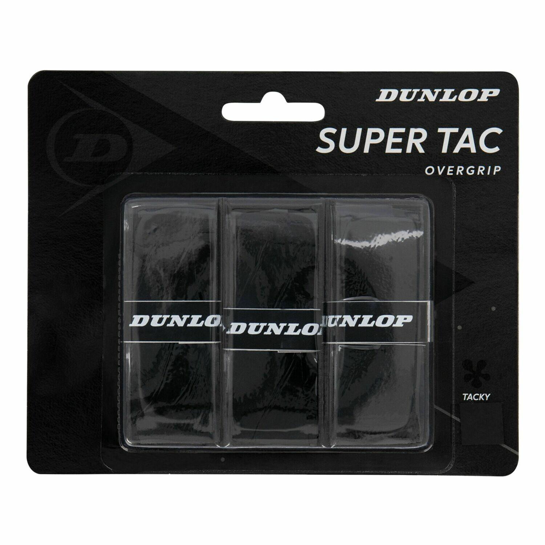 DUNLOP Supertac 3er Overgrip schwarz