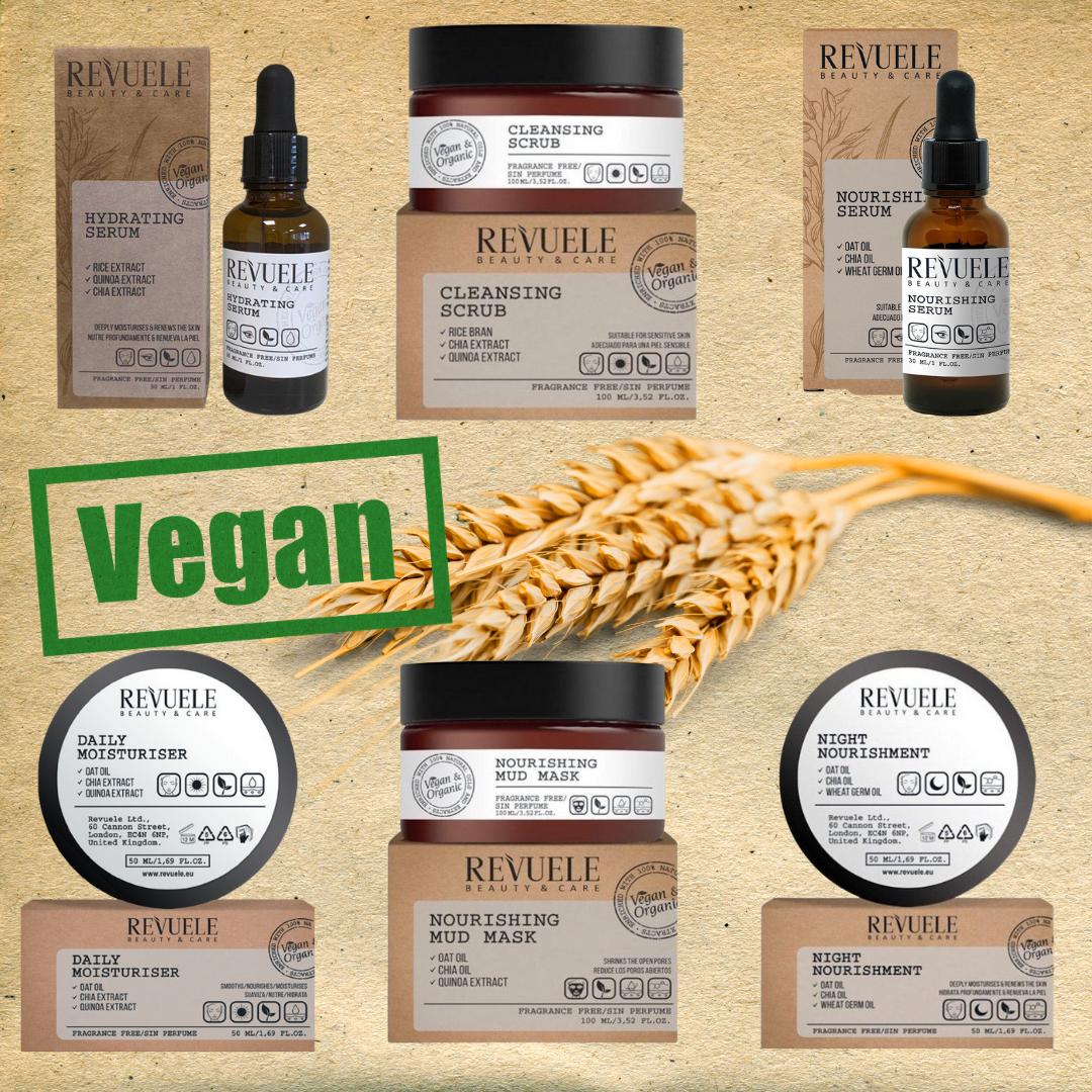 Revuele Vegan & Organic Skincare Set
