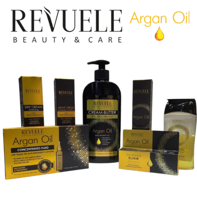 Revuele Argan Oil Skincare Set – 7 Products Made in Europe - Free Oz Shipping from QLD