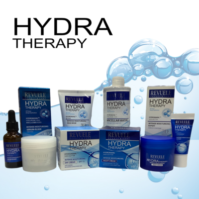 Revuele Hydra Therapy - Day, Night & Eye Cream & Serum & Mask & Micellar Water