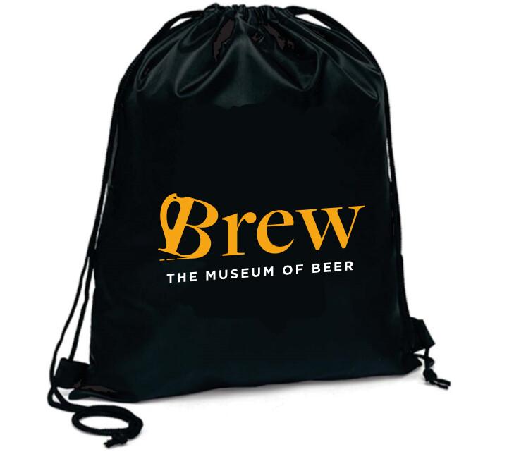 Brew Drawstring Bag