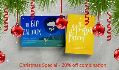 Christmas Special - 20% off The Big Balloon & The Mindful Parent book combi