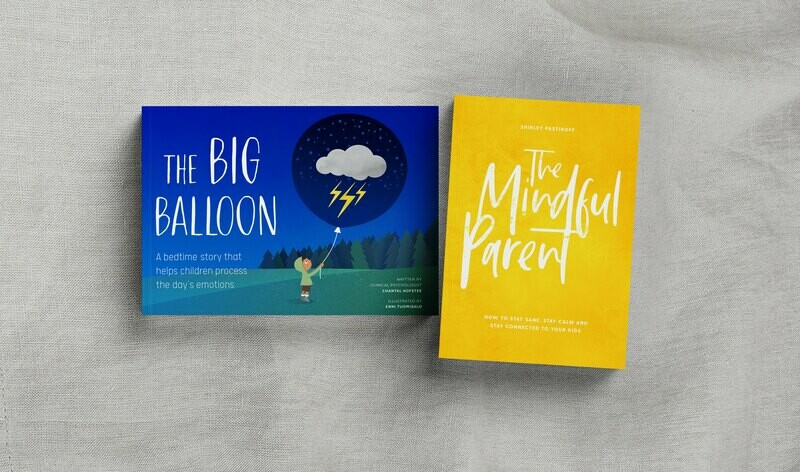 Combi Special - The Big Balloon & The Mindful Parent book
