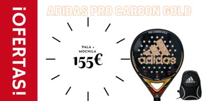 Adidas Pro Carbon Gold + Mochila