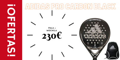 Adidas Pro Carbon Control Black + Mochila