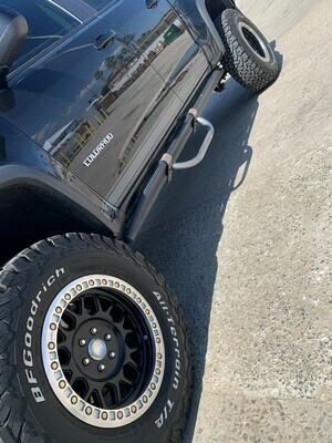 ZR2 Chevy Colorado Steps
