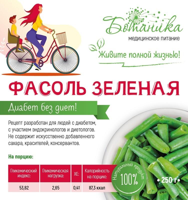 Фасоль зеленая
