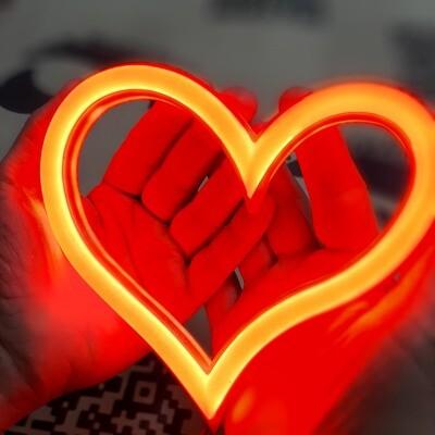 Сердце (муж заказал подарок жене)