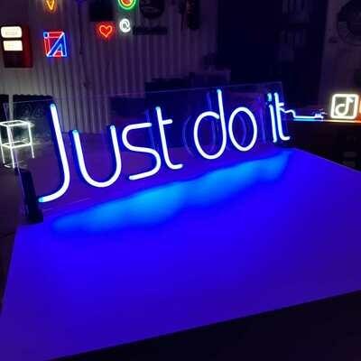 Just do it (мама подарила сыну на день рождения)