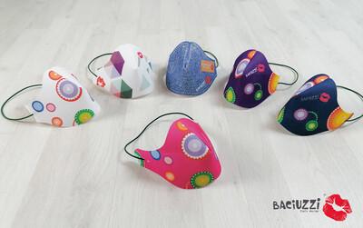 Mascherina gift Kids lavabile riutilizzabile-Girl, Igienica BACIUZZI
