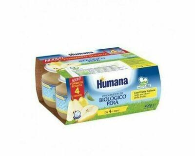 Humana Omogeneizzato Frutta Pera - 4x100 GR