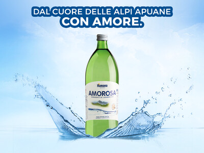 Acqua Amorosa 6x1 litro Humana Italia