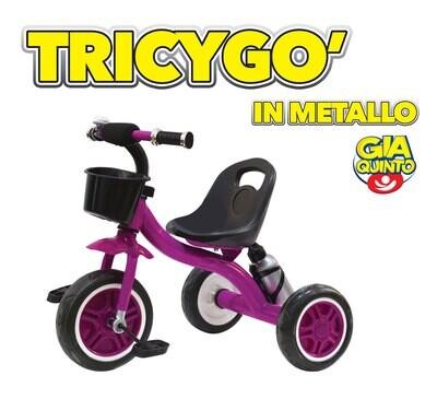 Triciclo per bambini TRICYGO Viola gioco