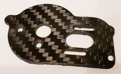 Mini T 2.0/Mini B Carbon Motor Plate