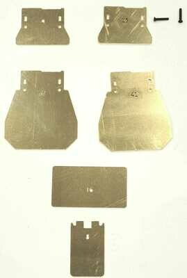 Mini B Brass Weight Tuning Kit