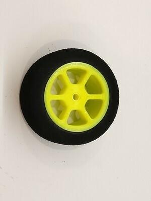 Mini B Foams - Six Spoke - Yellow