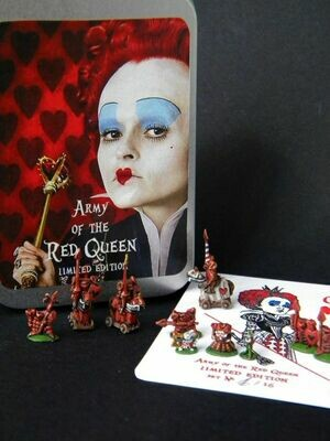 Army of the Red Queen. 70 miniatures