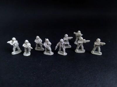 """""""Starship Troopers"""" 15 мм. Platoon  9 miniatures"""