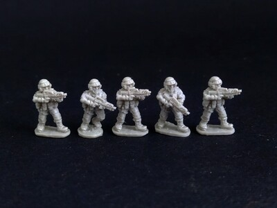 """""""Starship Troopers"""" 15 мм. Infantry  5 miniatures"""