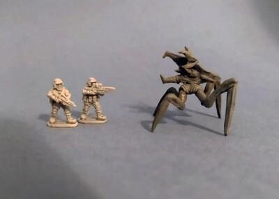 "Beetles  ""Starship Troopers"" 15 мм.  5ps"