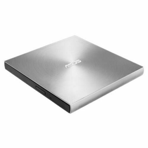 Asus (ZenDrive U7M) External Slimline DVD Re-Writer, USB, 8x, Silver, M-Disc Support, Cyberlink Power2Go 8