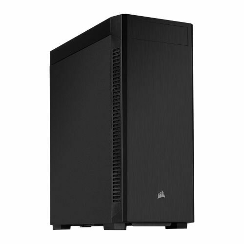Corsair 110Q Quiet Gaming Case, ATX, No PSU, 12cm Fan