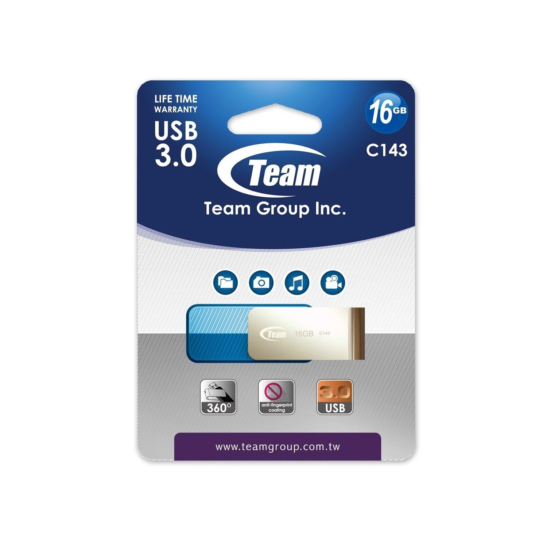 Team Color Series C143 16GB USB 3.0 Blue USB Flash Drive