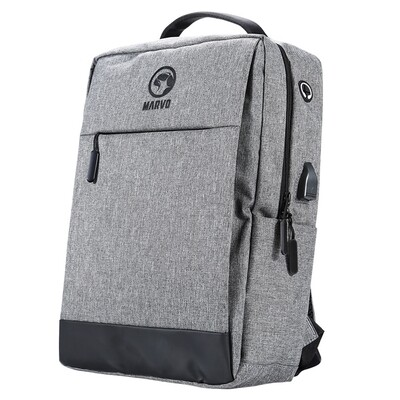 Marvo Waterproof Laptop Backpack with USB Port