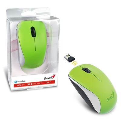 Genius NX-7000 Wireless Green Mouse