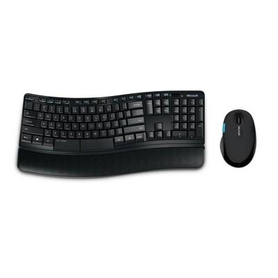 Microsoft Sculpt Comfort Desktop Wireless Ergonomic Keyboard and Mouse Set
