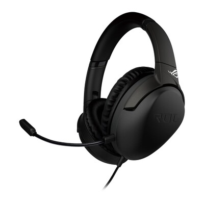 Asus ROG STRIX GO Gaming Headset, USB-C (USB2 Adapter), Airtight Chambers, AI Noise-Cancelling Mic, Controls on Earcups