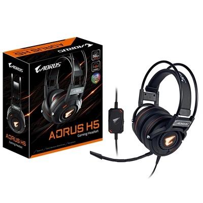 Gigabyte AORUS H5 RGB LED Gaming Headset