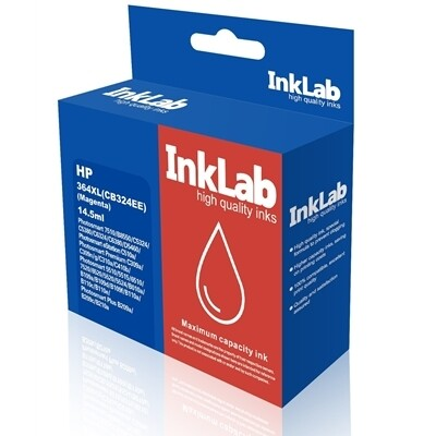 InkLab 364 XL HP Compatible Magenta Replacement Ink